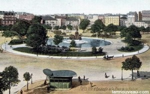 Place de la Nation début 20ème siècle