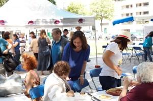 Première citoyenne party organisée le 14 juillet 2013 par les conseillers de quartier