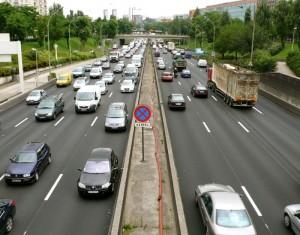 Boulevard périphérique. Crédits Pierre-Clément Julien