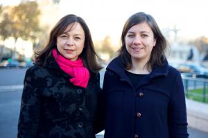Morgane Sauriau et Catherine Baratti-Elbaz