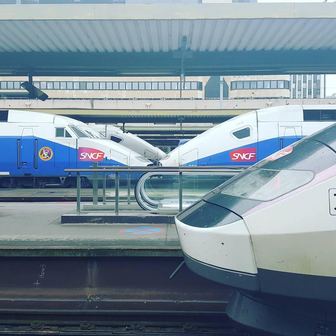 Tte bche Paris Paris12 TGV SNCF GaredeLyon Gare