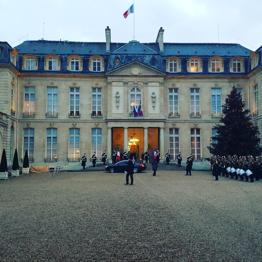 Voeux du Prsident de la Rpublique aux lus de Paris