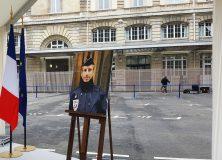 Hommage des élus du 12e au policier Xavier Jugelé