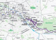 Grand Paris des bus: les habitants et élus du 12e défendent le 87!