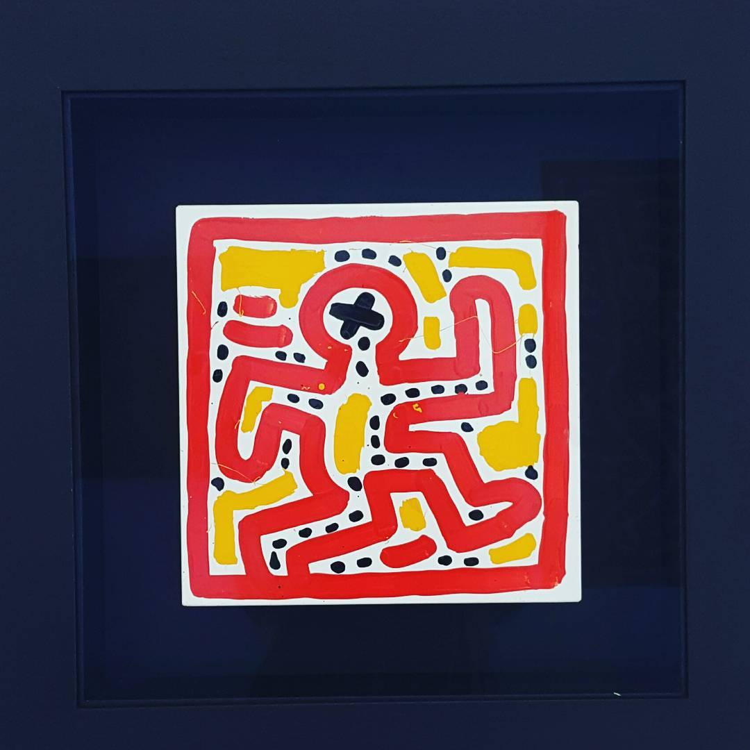 Keith Haring painting