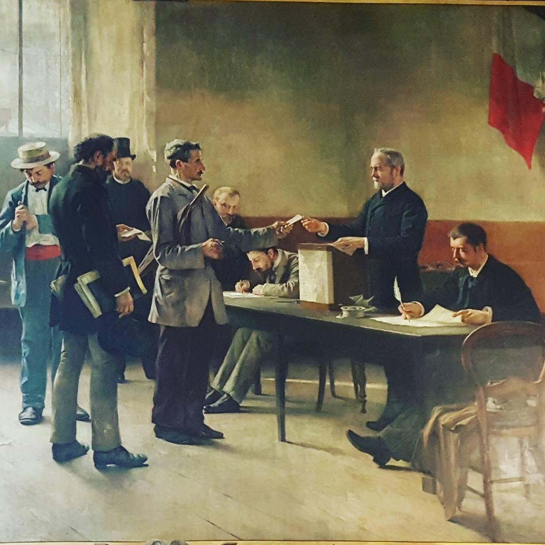 Suffrage universel fin XIXeme sicle sans femme donc galit electionshellip