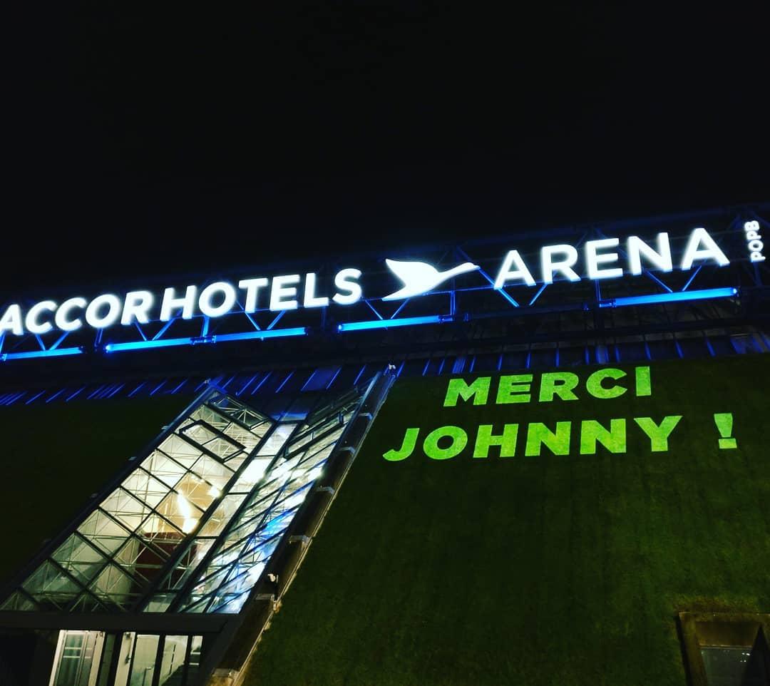 mercijohnny johnnyhallyday Paris Paris12