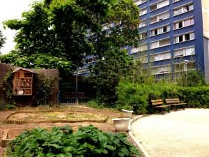 Jardin Saint Louis © Pierre-Clément Julien