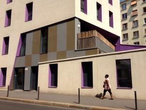 Le foyer pour jeunes adultes de la rue Louis Braille  ©Pierre-Clément Julien