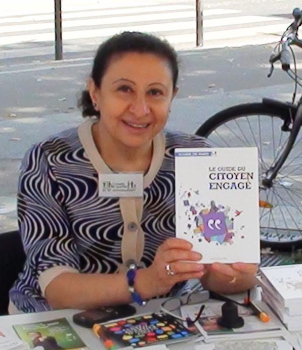 """Laure Lahaye, Présidente de l'association """"Collectif des Libanais Laïcs en France"""", Conseillère de quartier Bercy, déléguée au CSPDA"""