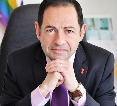 Jean-Luc Romero, Conseiller régional d'Ile-de-France, Militant associatif