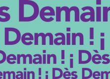 « Dès demain », un nouveau mouvement pour une démocratie innovante, sociale, écologiste et européenne